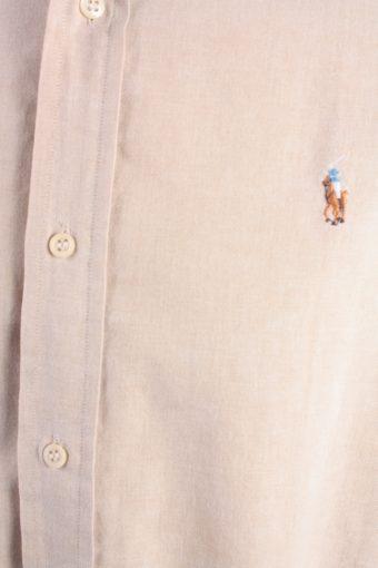 Polo House Vintage Long Sleeve Shirt Beige Size 20 - SH2038-15806