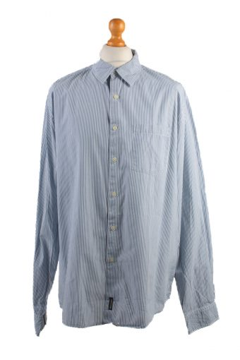 Abercrombie&Fitch Long Sleeve Shirt /Stripes 90s Blue XL