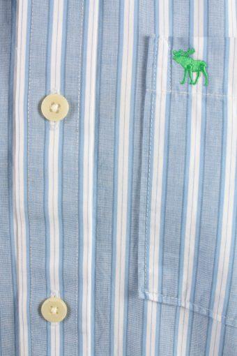 Abercrombie&Fitch Vintage Long Sleeve Shirt Blue/Stripes Size M- SH2052-15818