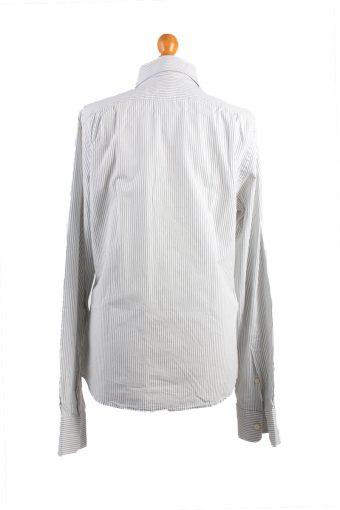 Abercrombie&Fitch Vintage Long Sleeve Shirt White/Stripes Size M- SH2059-15892