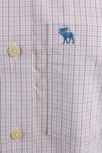 Abercrombie&Fitch Vintage Long Sleeve Shirt Purple/Stripes Size M- SH2069-15950