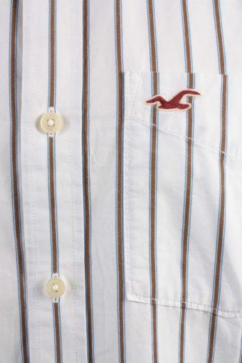 Hollister Vintage Long Sleeve Shirt White/Stripes Size XL - SH2078-15862