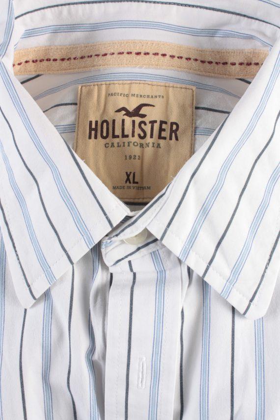 Hollister Vintage Long Sleeve Shirt White/Stripes Size XL - SH2079-15871