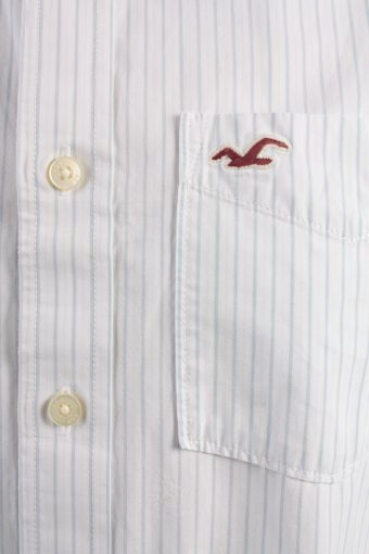 Hollister Vintage Long Sleeve Shirt White/Stripes Size L - SH2080-15881