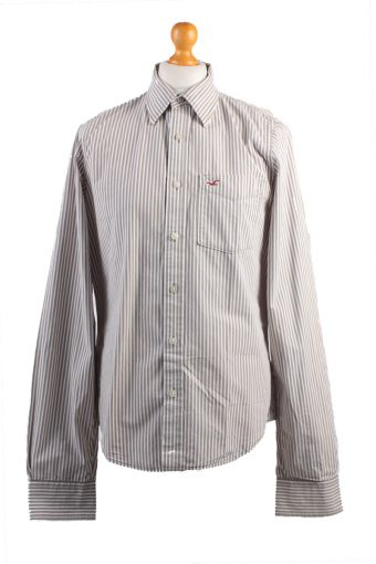 Hollister Long Sleeve Shirt /Stripes 90s Multi XL