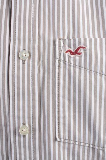 Hollister Vintage Long Sleeve Shirt White/Stripes Size XL - SH2081-15889