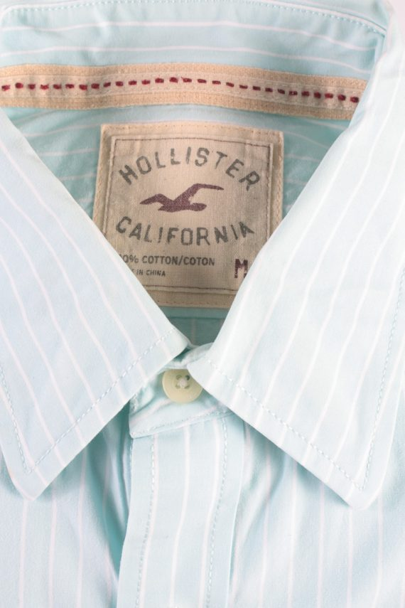 Hollister Vintage Long Sleeve Shirt Aqua/Stripes Size M - SH2083-15905