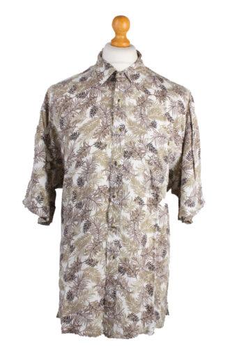 Hawaiian Shirts 90s Retro Short Sleeve Multi XXL