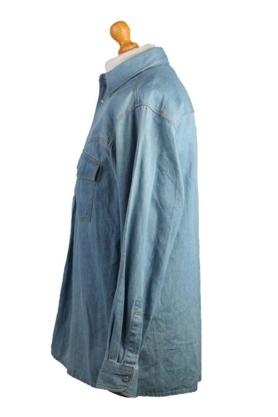John F.Gee Vintage Long Sleeve Shirt Blue Size 37/38 - SH359-17150