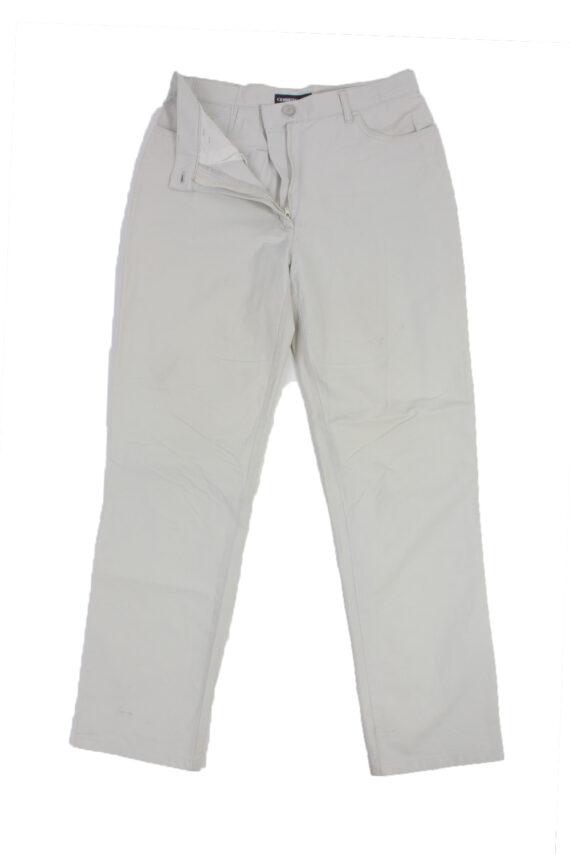 Cerruti Jeans Vintage Trousers with Button&Zip Men Grey W28 L30 -J1672-0