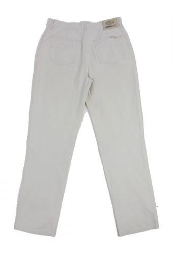 Cerruti Jeans Vintage Trousers with Button&Zip Men Grey W28 L30 -J1672-20099