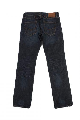 Scotch Vintage Jeans with Button Unisex Blue W31 L35 -J1677-20141