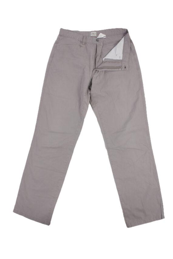 Calvin Klein Vintage Jeans with Button&Zip Men Grey W29 L32.5 -J1684-0
