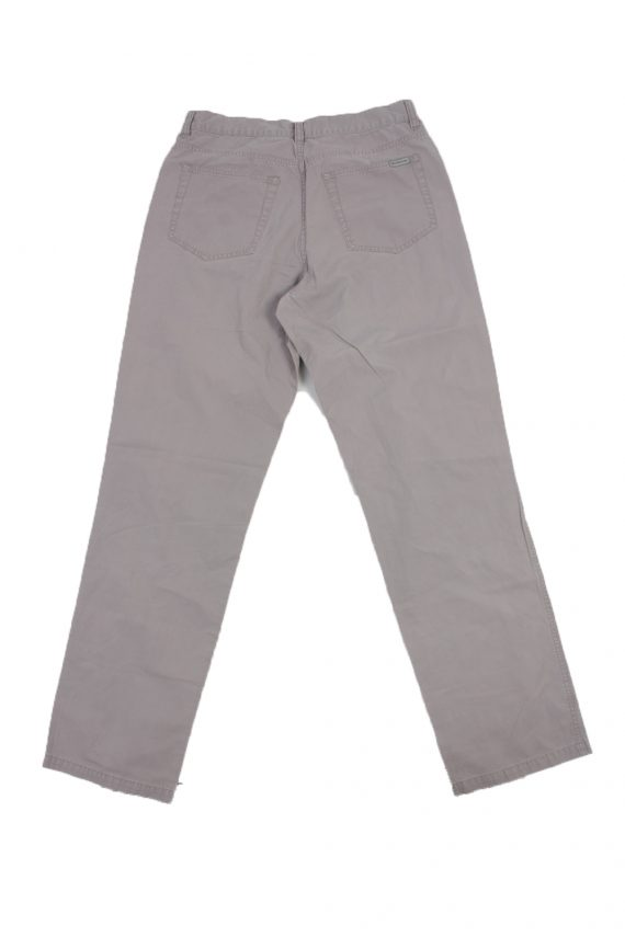 Calvin Klein Vintage Jeans with Button&Zip Men Grey W29 L32.5 -J1684-20105