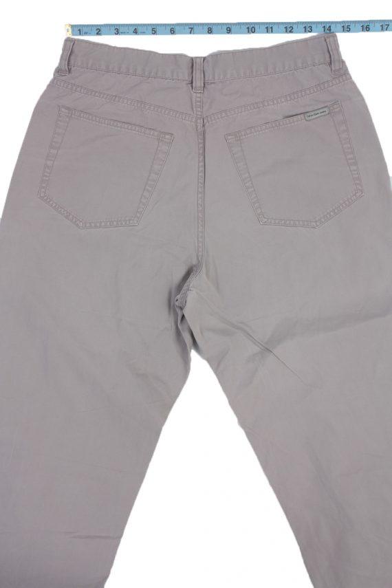 Calvin Klein Vintage Jeans with Button&Zip Men Grey W29 L32.5 -J1684-20106
