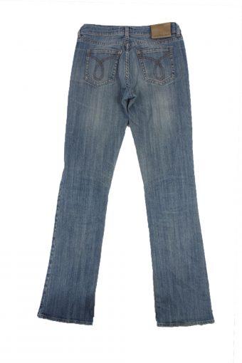 Calvin Klein Vintage Jeans with Button&Zip Women Blue W27 L33.5 -J1689-20199