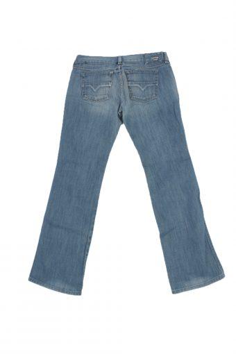 Diesel Vintage Jeans with Button&Zip Women Blue W26 L31 -J1692-20205