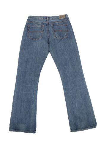 Tommy Hilfiger Vintage Jeans Button&Zip Women Blue W28 L33 -J1702-20240