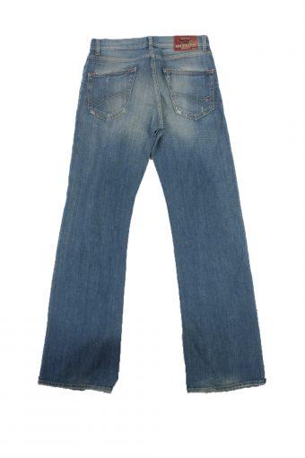 Tommy Hilfiger Vintage Jeans Button&Zip Women Blue W29 L33.5 -J1705-20249