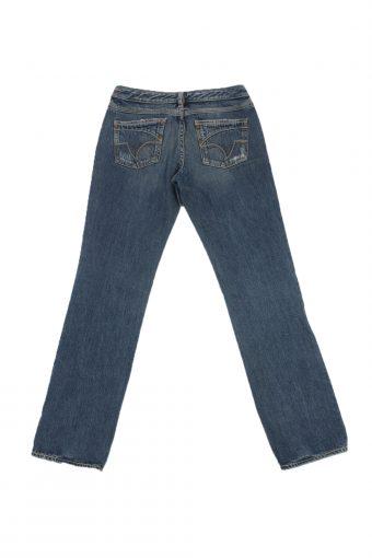 Diesel Vintage Jeans with Button&Zip Women Blue W27 L31 -J1801-20607