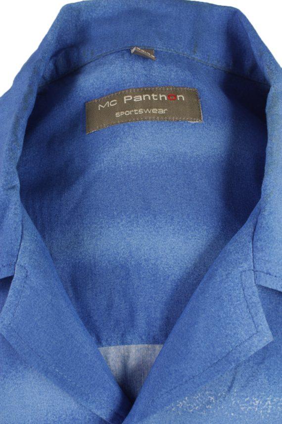 Vintage Hawaiian Shirt Beach Stag Aloha Summer Blue/Design Size M-SH2209-21272