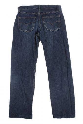 Levis Vintage Blue Jeans with Button&Zip Unisex - W31 L29.5 - J1916-22186