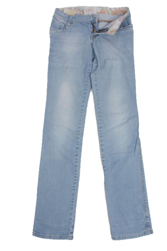 Levis Vintage Blue Jeans with Buttons&Zip Women - W26 L32.5 - J1947-0