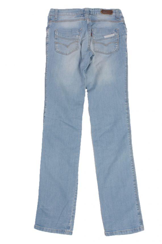 Levis Vintage Blue Jeans with Buttons&Zip Women - W26 L32.5 - J1947-22292