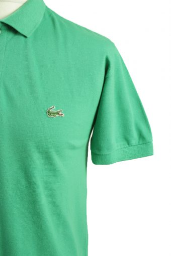 "Lacoste Vintage Casual Men Polo Shirt Springgreen Chest Size 42"" -PT0166-21790"