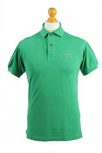 Lacoste Polo Shirt 90s Retro Green M