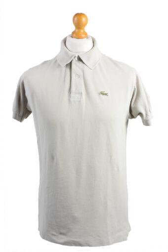 Lacoste Polo Shirt 80s Retro Beige L