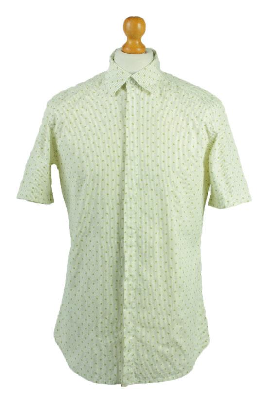 Vintage Hawaiian Shirt Beach Stag Aloha Party Summer Olive/Design Size L-SH2246-0