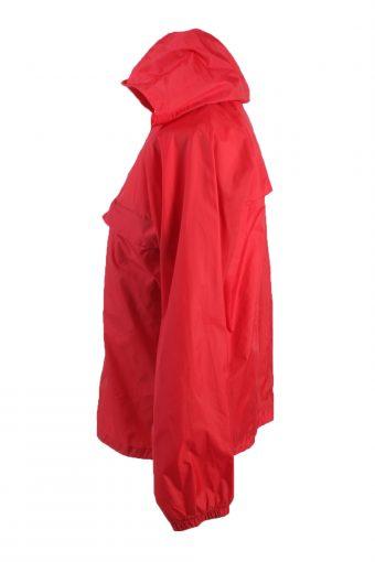 "Raincoat Windbreaker Vintage Festival Coat Jacket Red Chest Size 43""-SW1200-22955"