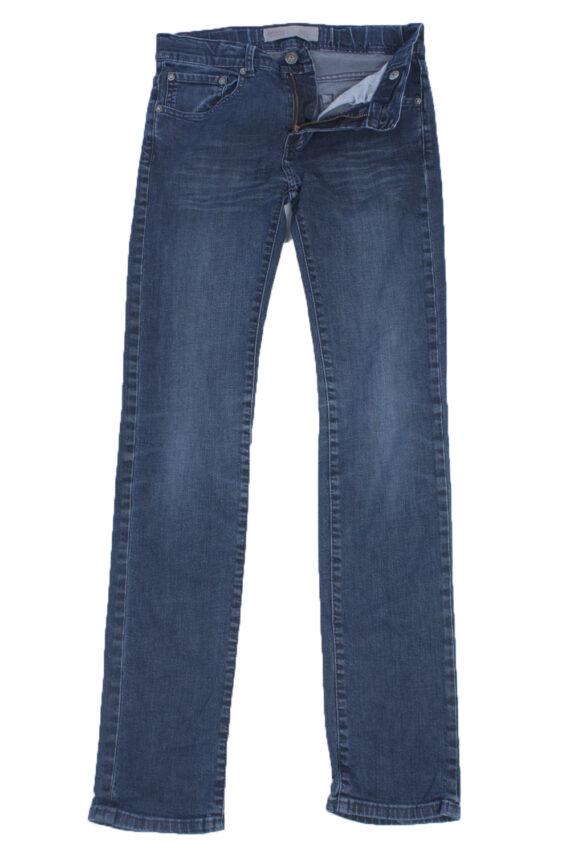 Levis Vintage Blue Jeans with Buttons&Zip Women Size - W29 L32 - J2044-0