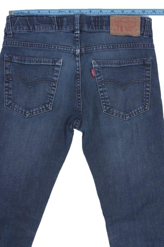 Levis Vintage Blue Jeans with Buttons&Zip Women Size - W29 L32 - J2044-22614