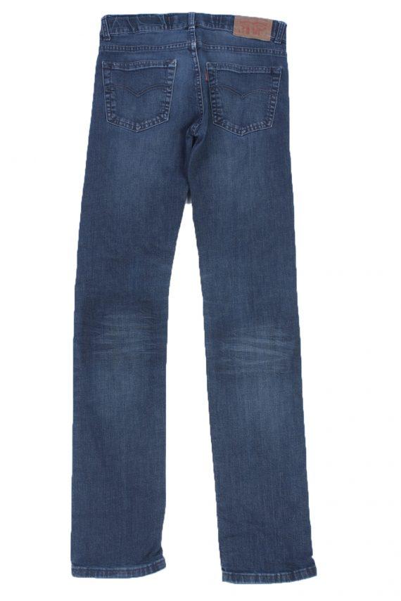 Levis Vintage Blue Jeans with Buttons&Zip Women Size - W29 L32 - J2044-22613