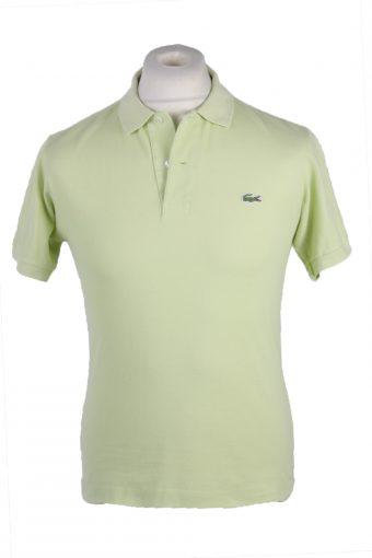 Lacoste Polo Shirt 90s Retro Lime S