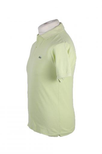 "Lacoste Vintage Casual Men Polo Shirt Green Chest Size 38"" -PT0210-23997"