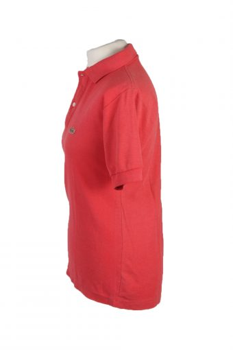 Lacoste Vintage Casual Men Polo Shirt Red Size S -PT0227-24048