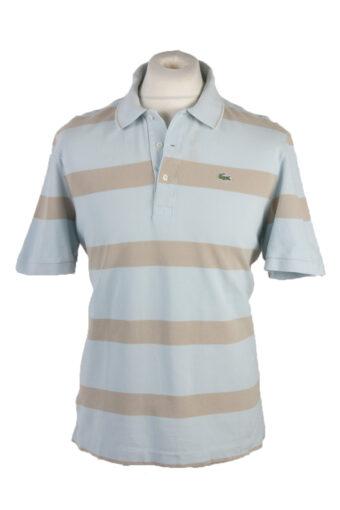 Lacoste Polo Shirt 90s Retro Turquoise L
