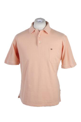 Casa Moda Polo Shirt 90s Retro Peach L