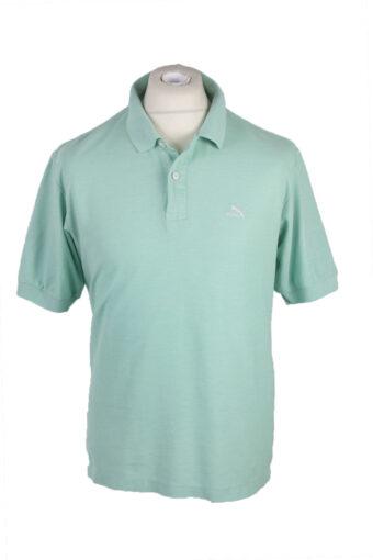 Puma Polo Shirt 90s Retro Light Green XL