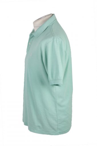 "Puma Vintage Casual Men Polo Shirt Green Chest Size 45"" -PT0251-24122"