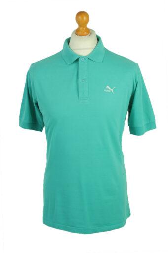 Puma Polo Shirt 90s Retro Turquoise XL