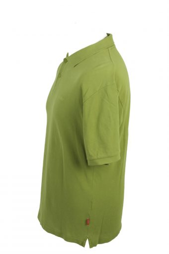Esprit Vintage Casual Men Polo Shirt Olive Size XXL -PT0292-24259