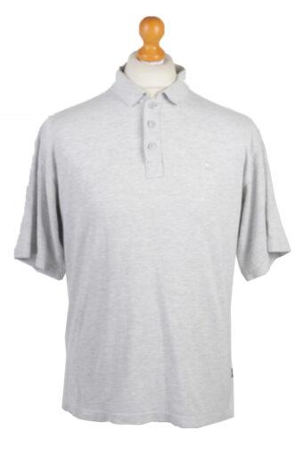 Adidas Polo Shirt 90s Retro Grey XL
