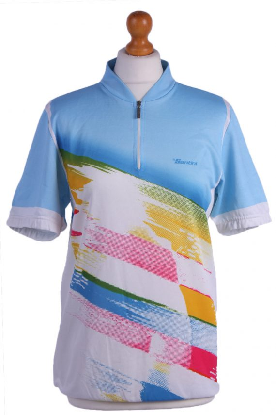 """Retro Cycling Cycle Vintage Sport Race Jersey Shirt Multi Chest Size 41""""-CW0212-0"""