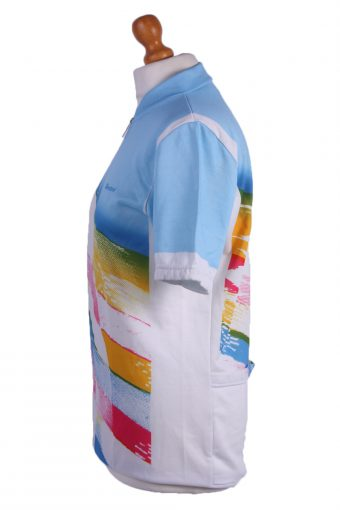 """Retro Cycling Cycle Vintage Sport Race Jersey Shirt Multi Chest Size 41""""-CW0212-25525"""