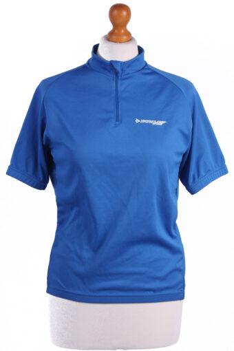Cycling Shirt Jersey 90s Retro Blue M