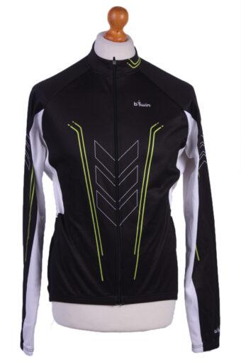 Cycling Shirt Jersey 90s Retro Black L